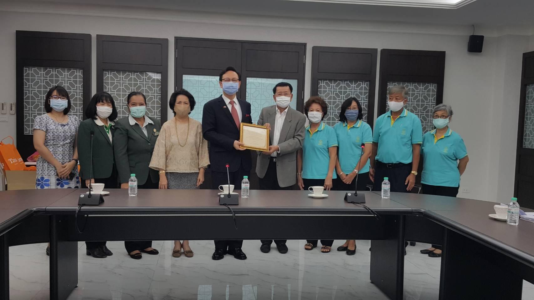 เยี่ยมคารวะท่านทูตไต้หวัน ในโอกาสครบวาระการทำหน้าที่ในประเทศไทย